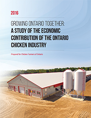 Growing Ontario Together: A Study of the Economic Contribution of the Ontario Chicken Industry image