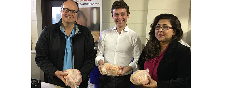 CFO continues partnership with local MPPs to ensure steady supply of chicken gets to those in need