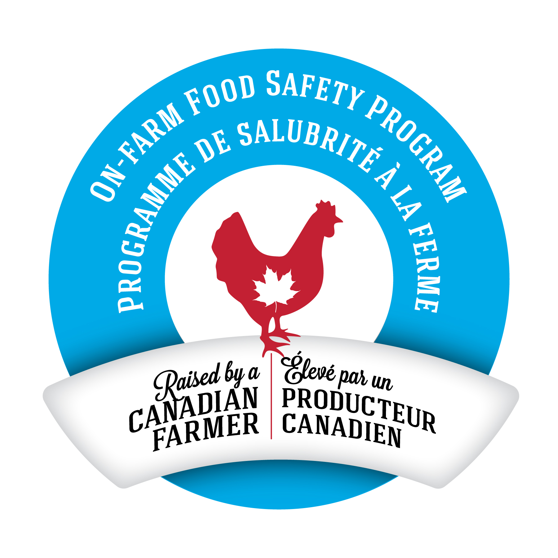Raised By A Canadian Farmer On-Farm Food Safety Program  image