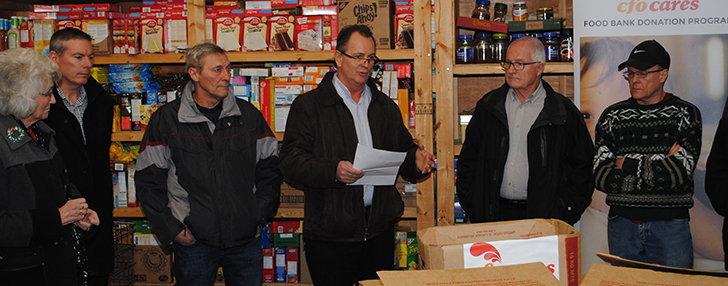 Walkerton Food Bank receives significant CFO Cares fresh chicken donation for the holiday season